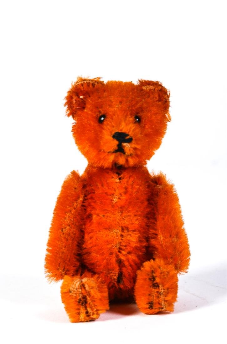 SCHUCO MOHAIR TEDDY BEAR PERFUME BOTTLE