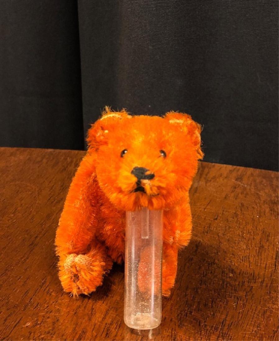 SCHUCO MOHAIR TEDDY BEAR PERFUME BOTTLE - 3
