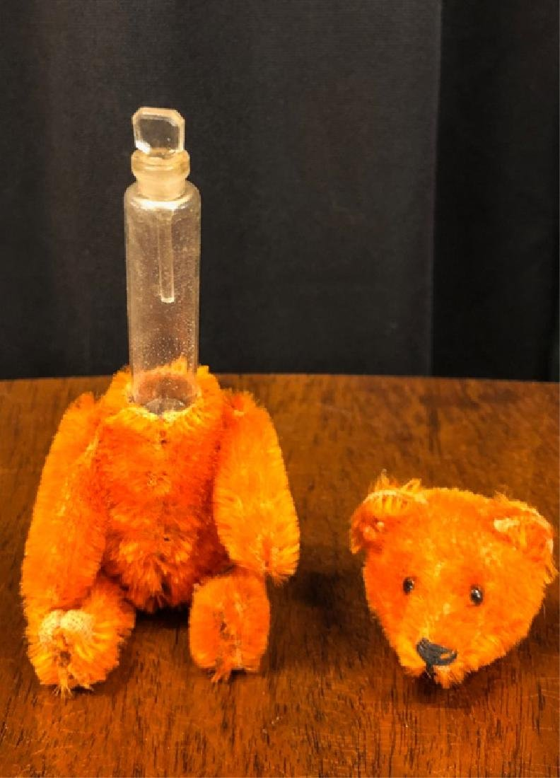 SCHUCO MOHAIR TEDDY BEAR PERFUME BOTTLE - 4
