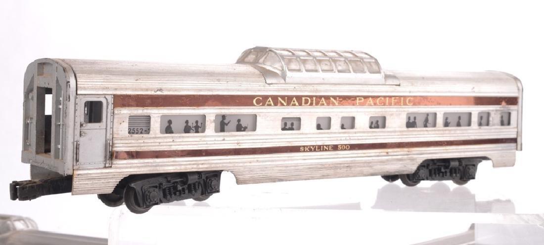 LIONEL O-GAUGE CANADIAN PACIFIC TRAIN SET - 3