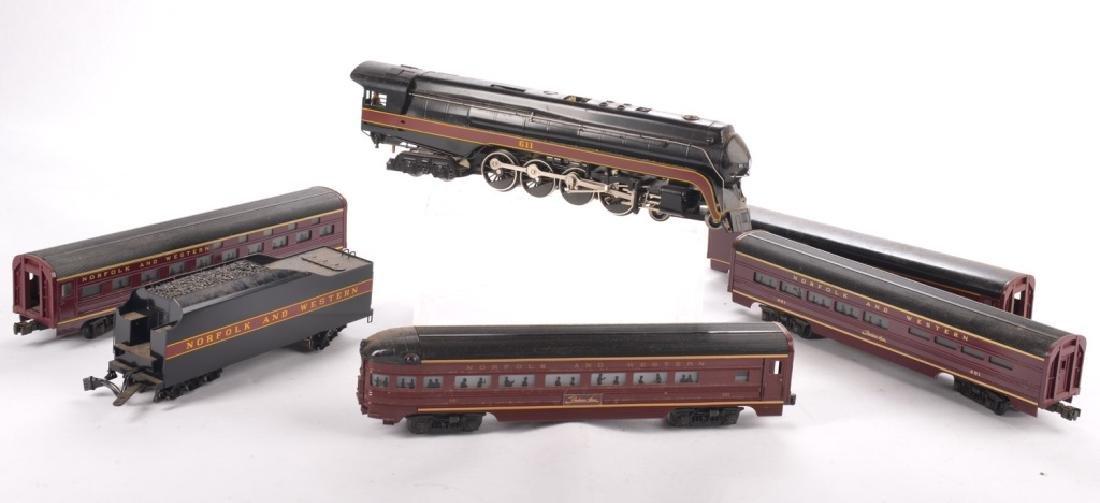 LIONEL O-GAUGE NORFOLK AND WESTERN TRAIN SET