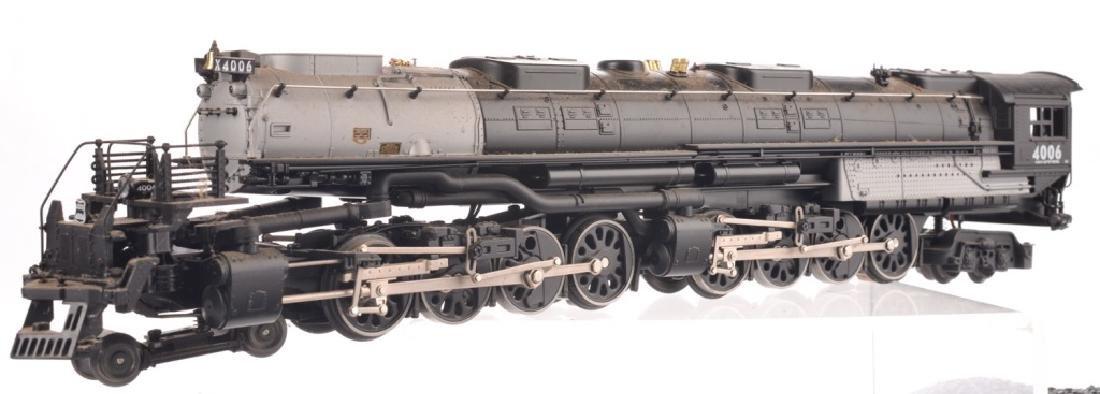 LIONEL O-GAUGE UNION PACIFIC TRAIN SET - 8