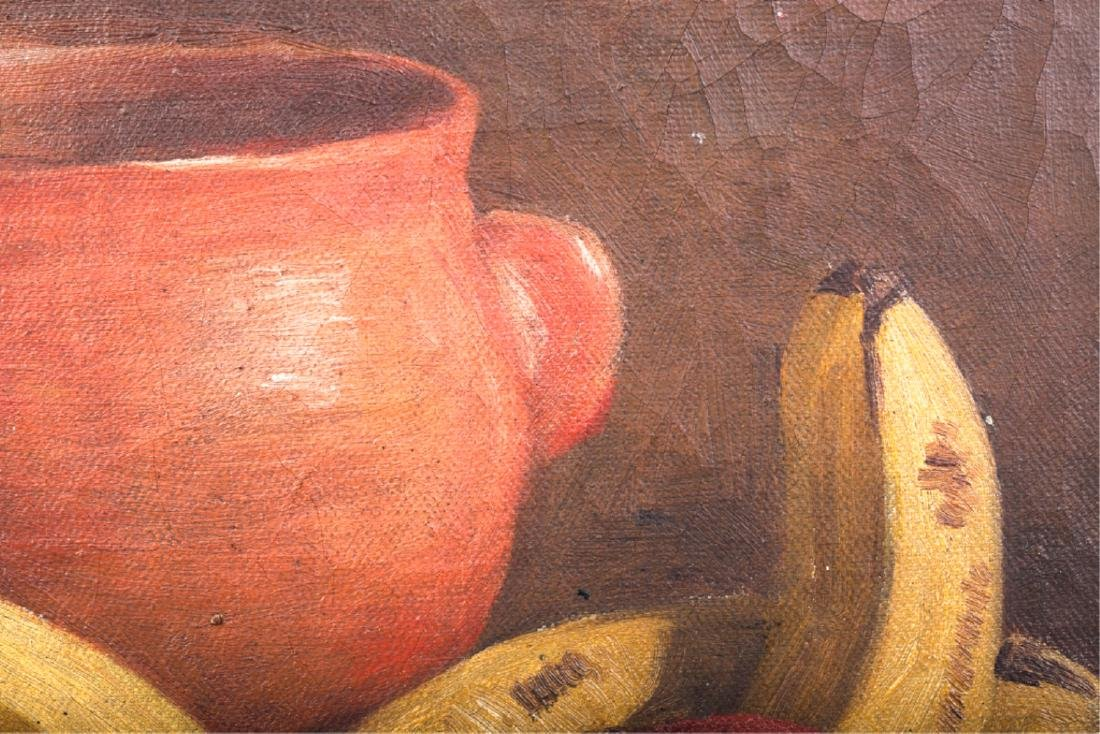 TWO AMERICAN SCHOOL OIL ON CANVAS STILL LIFE'S - 8