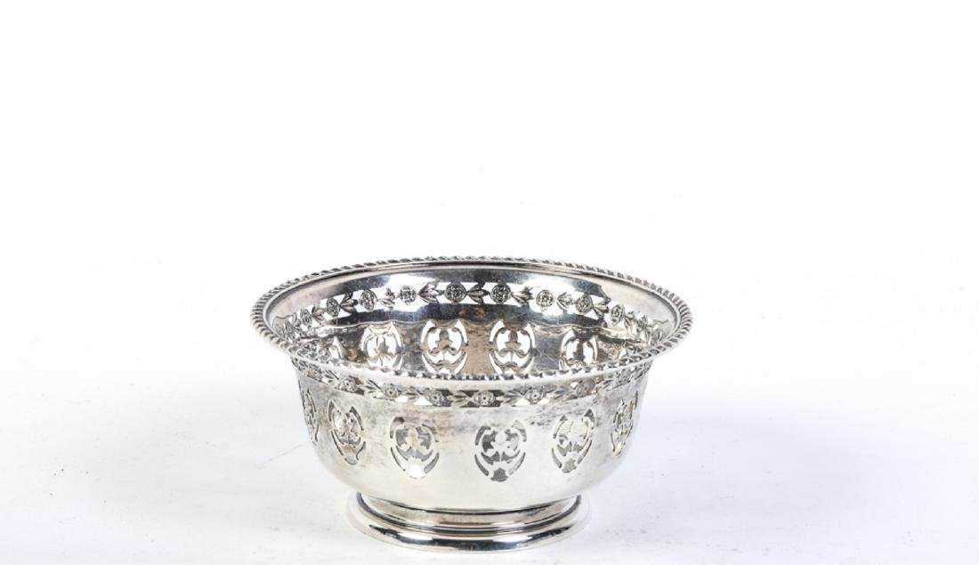 (7) STERLING SILVER PLATES AND BOWLS - 4