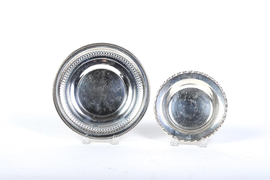 (7) STERLING SILVER PLATES AND BOWLS - 5