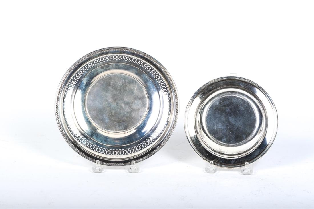 (7) STERLING SILVER PLATES AND BOWLS - 6