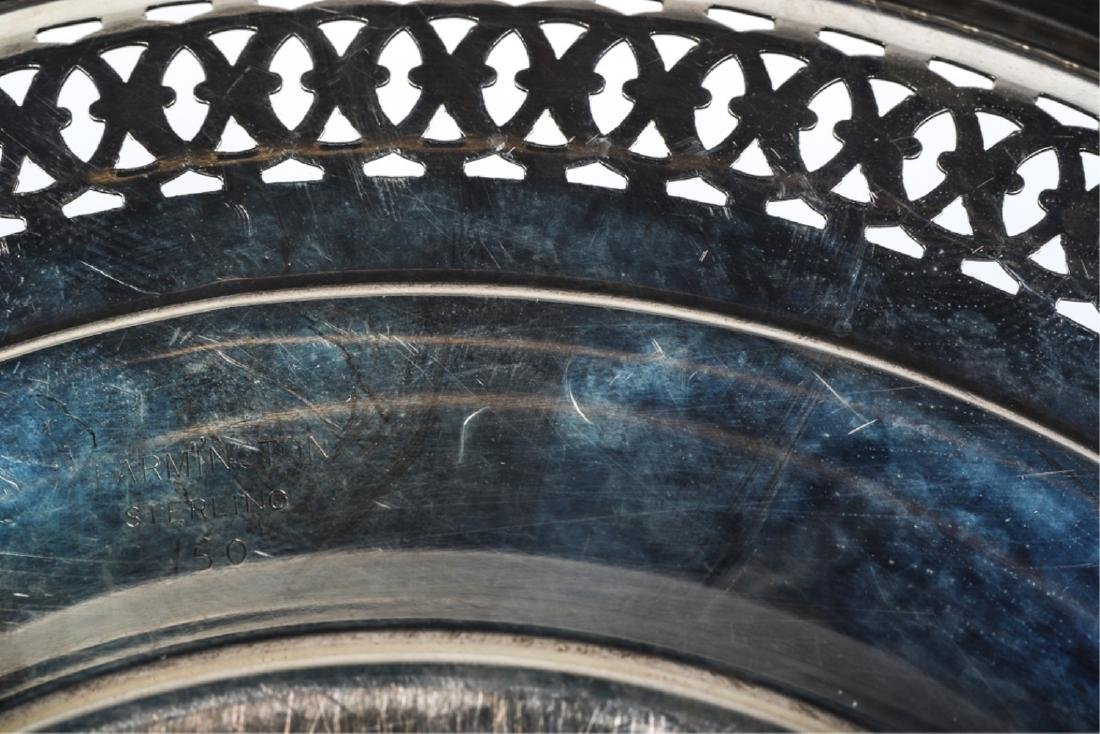 (7) STERLING SILVER PLATES AND BOWLS - 7