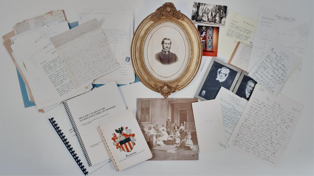 AUCHINCLOSS FAMILY in NEWPORT PHOTOS & GENEALOGY