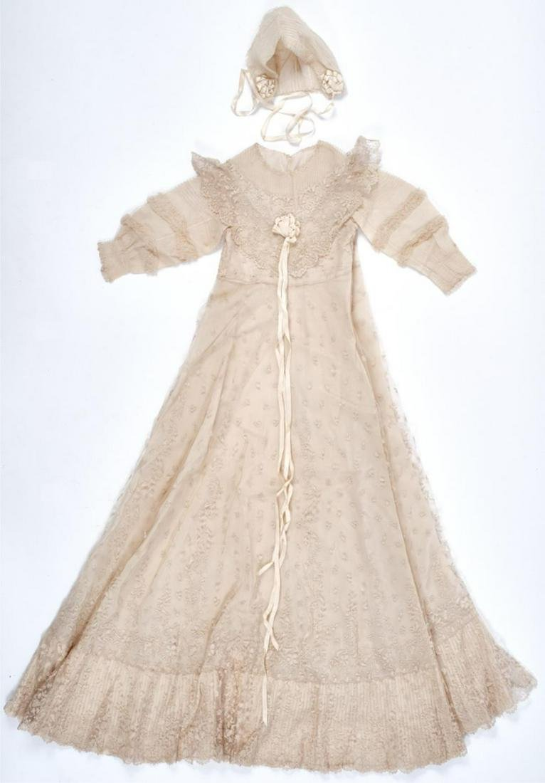 BOUVIER-AUCHINCLOSS FAMILY CHRISTINING GOWN