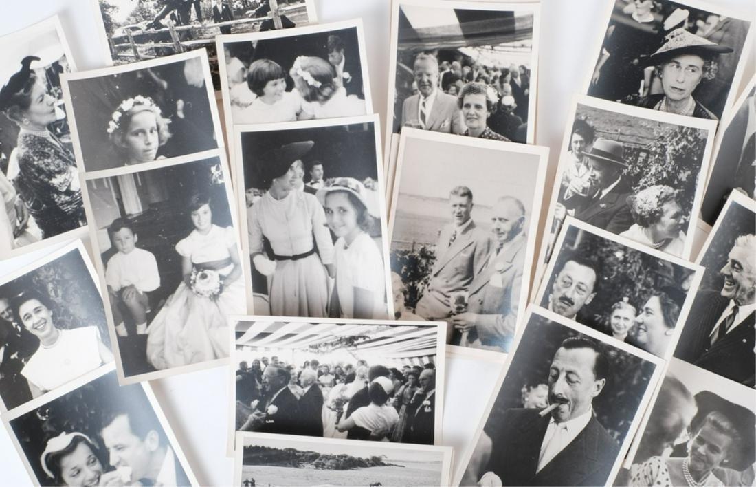 JACK & JACKIE KENNEDY'S WEDDING PHOTOGRAPHS