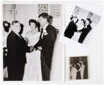 JOHN & JACKIE KENNEDY'S WEDDING PHOTOGRAPH