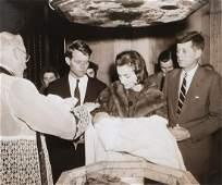 CHRISTENING OF CAROLINE KENNEDY DEC. 13th, 1957