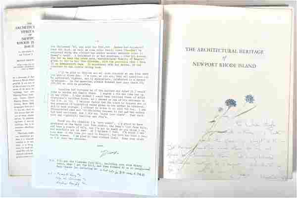 ENDEARING JACKIE KENNEDY SIGNED & PAINTED BOOK
