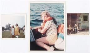 CAROLINE KENNEDY SAILING in NEWPORT w (2) OTHERS