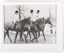 JACKIE KENNEDY RIDING with JANET & CAROLINE
