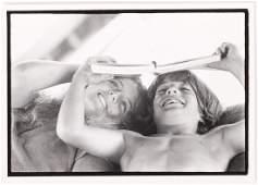 CAROLINE & JOHN KENNEDY in GREECE by PETER BEARD