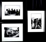(3) JACQUES LOWE PHOTOGRAPHS OF JACKIE KENNEDY