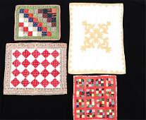 3 PENNSYLVANIA  1 MAINE DOLL QUILTS