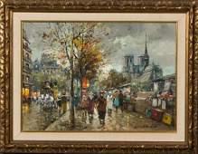 65: Antoine Blanchard, France (1910-1988) Paris street