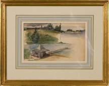 178: Frank ViningSmith, American (1879-1967) Cataumet H