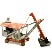 KEYSTONE PRESSED STEEL STEAM SHOVEL TOY
