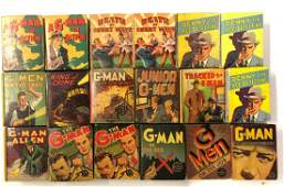 (18) G-MAN PICTURE BOOK NOVELS
