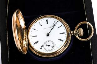LADY PICARD GOLD FILLED POCKET WATCH
