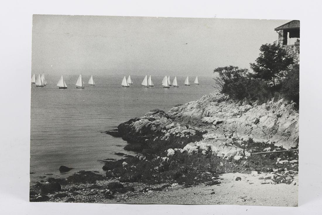 """AUGUST 1946 """"START OF A RACE"""" MARBLEHEAD PHOTO"""