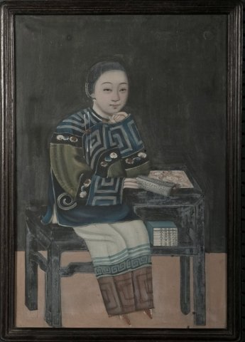 12: Chinese School (19th century) The scholar, unsigned