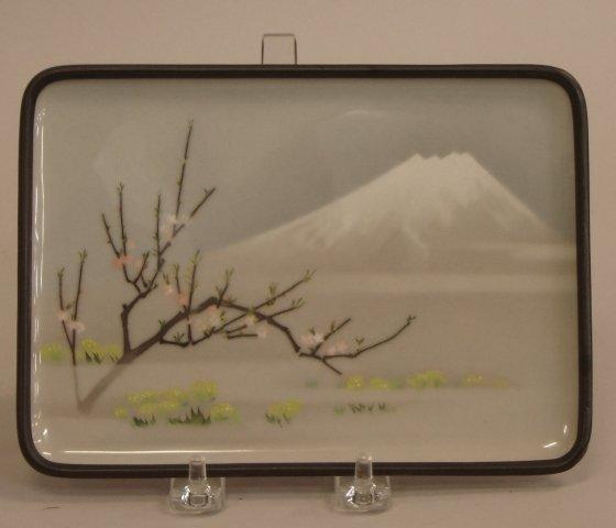 39: Japanese cloisonné  enamel tray