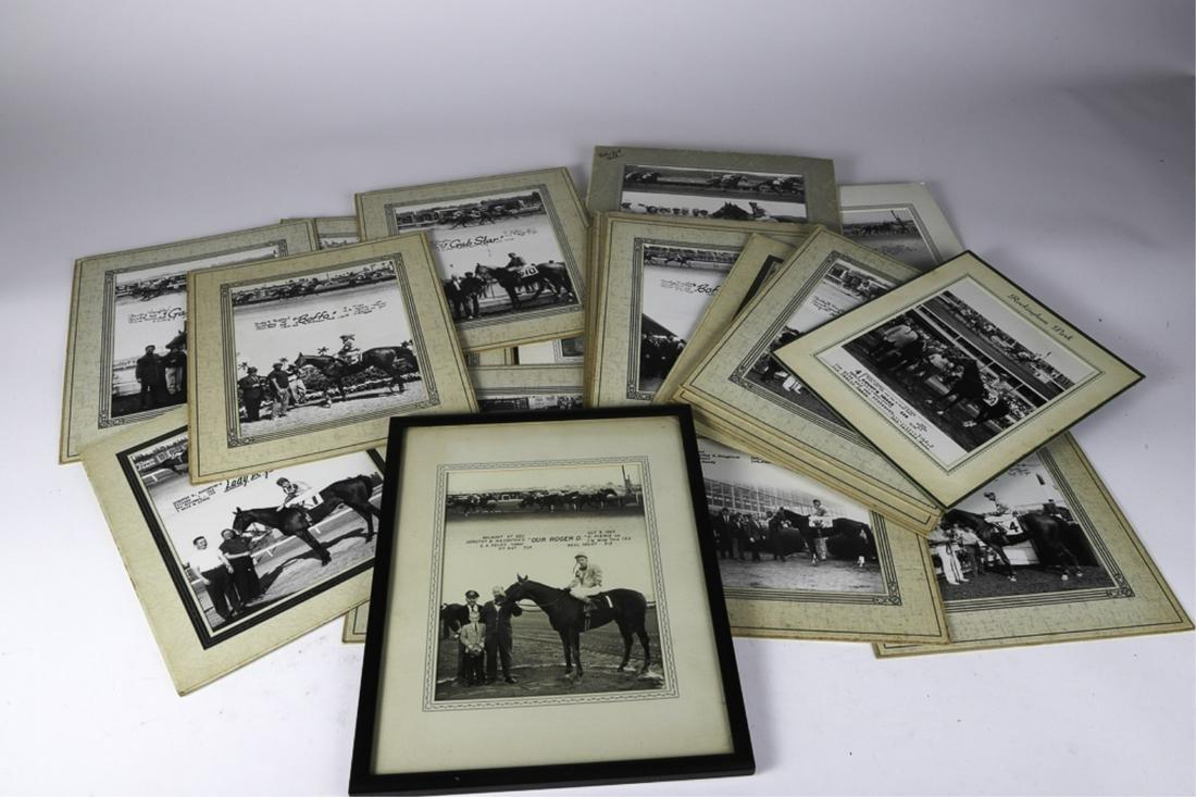 (23) PHOTOGRAPHS OF DOROTHY HAUGHTON'S WINNERS