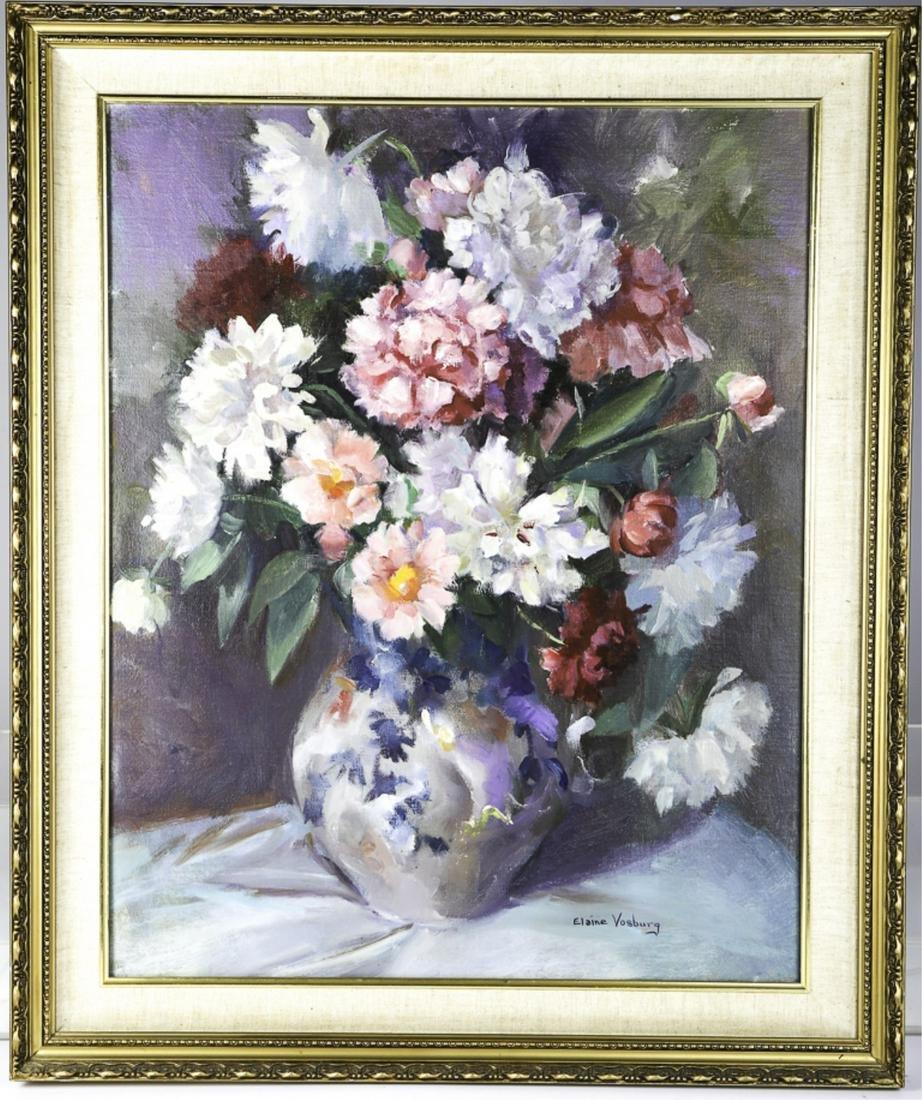 ELAINE VOSBURG (1927-2020)