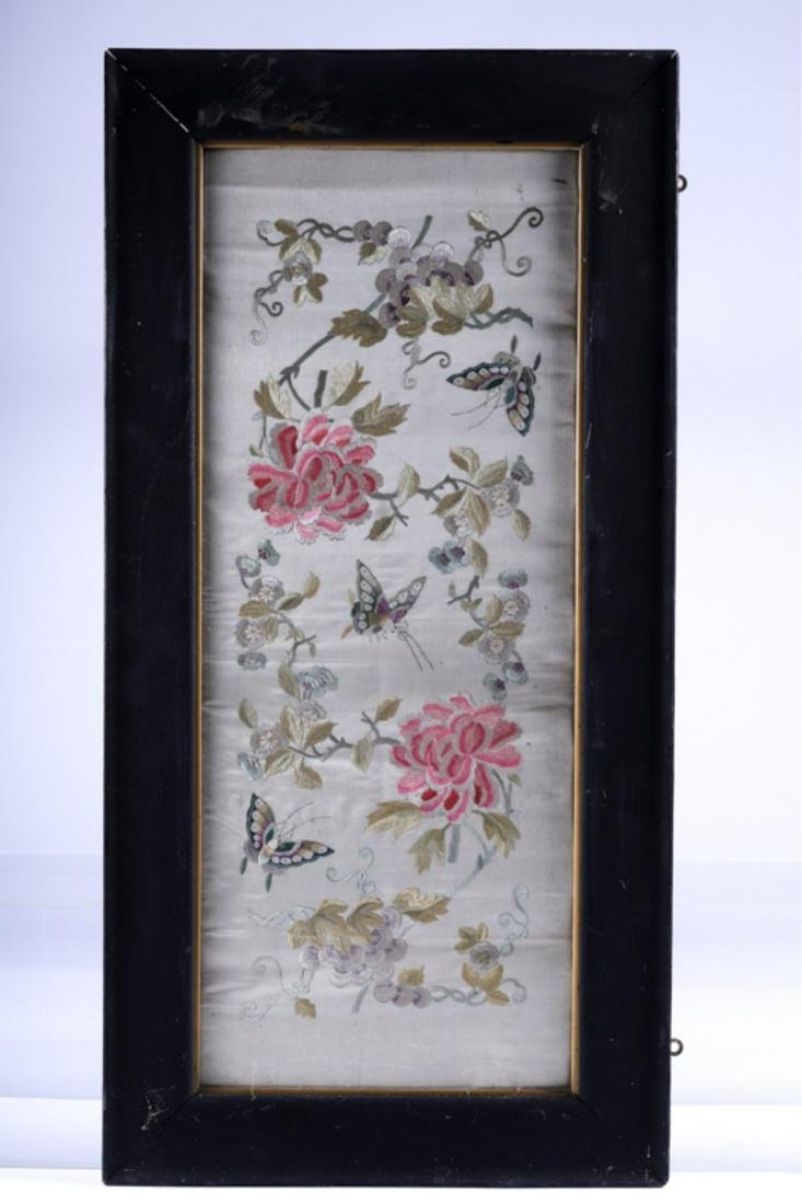 (Early 20th c) CHINESE SILK EMBROIDERY