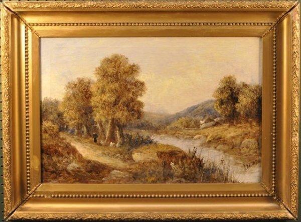 6: Joseph Knight, British (1837-1909) River Llugug