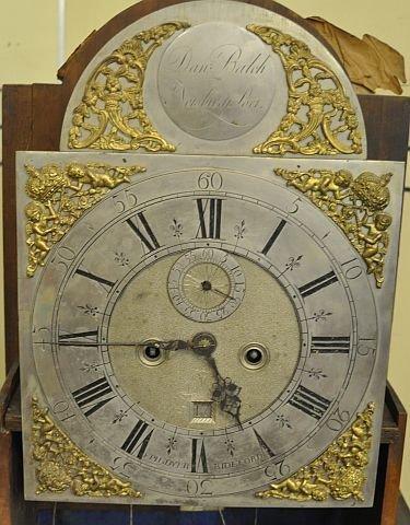 53: 18th century Newburyport tall case clock  - 3