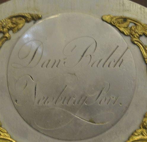 53: 18th century Newburyport tall case clock  - 4