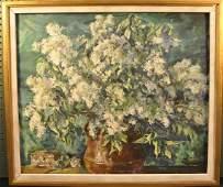 133 Rudolf Scheffler American 18841973 Floral stil