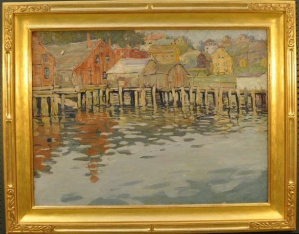 163: Jane Peterson, American (1876-1965)Gloucester Harb