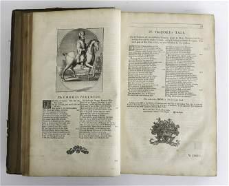 "JOHN URRY ""WORKS OF GEOFFREY CHAUCER"" 1721"