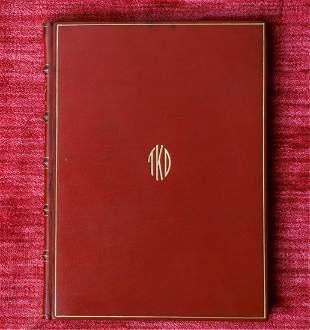 RUBAIYAT OF HAFIZ PERSONAL COPY OF T.D. KRITON