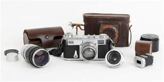 CONTAX II A RANGEFINDER with CARL ZEISS JENNA LENS