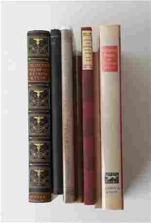 (6) BOOKS OF POETRY by ELINOR WYLIE and a (7th)