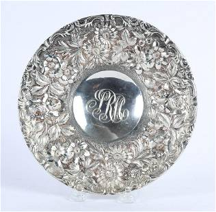 JENKINS & JENKINS INC STERLING SILVER FOOTED PLATE
