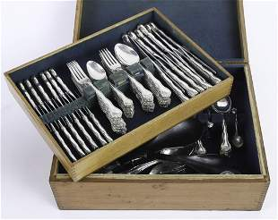 GORHAM STERLING SILVER FLATWARE SET