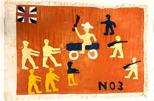 AFRICAN FANTE FLAG No. 3