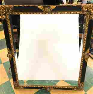 (19th c) ITALIAN CARVED and GILT FRAME