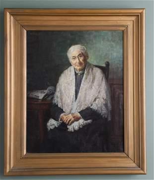 JOSEPH B. KAHILL (AMERICAN 1882-1957) PORTRAIT OF