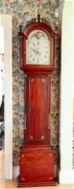 AARON WILLARD TALL CASE CLOCK, BOSTON