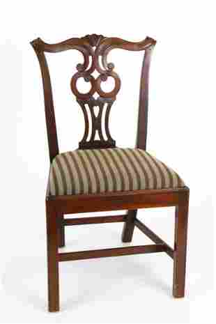 CENTENNIAL MAHOGANY CHIPPENDALE SIDE CHAIR