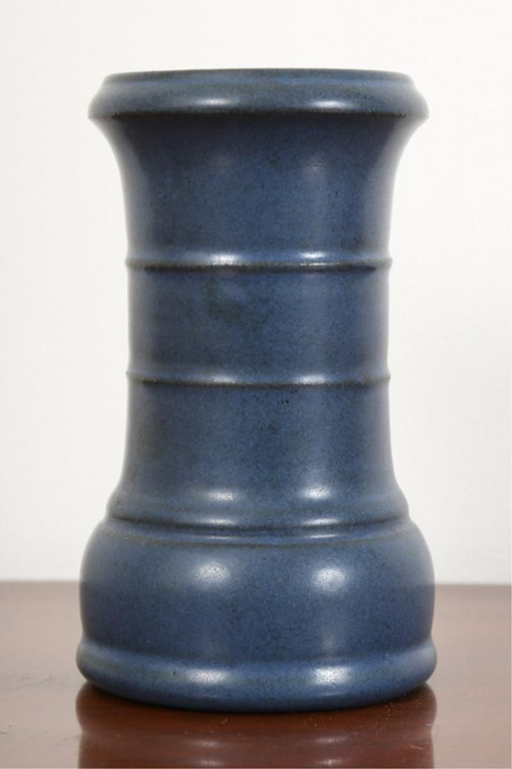MARBLEHEAD POTTERY PEN / PENCIL HOLDER DATED 1910